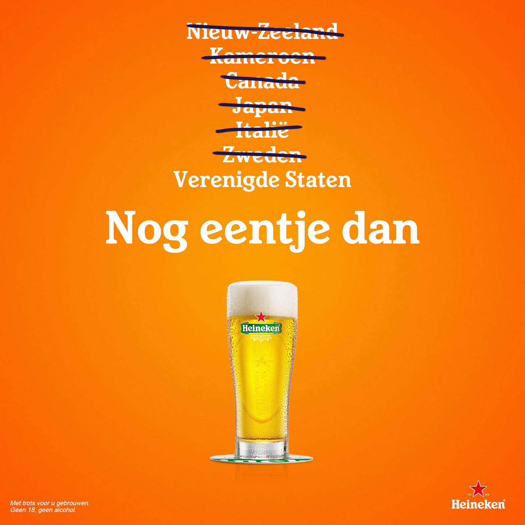 Heineken (WK Finale Nederland – Verenigde Staten)